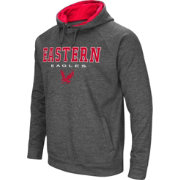 Colosseum Men's Eastern Washington Eagles Grey Fleece Hoodie