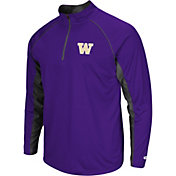 Colosseum Men's Washington Huskies Purple Airstream Quarter-Zip
