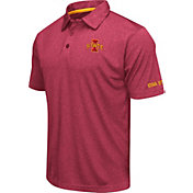 Colosseum Men's Iowa State Cyclones Cardinal Axis Polo