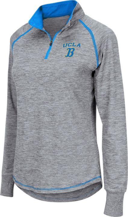 Colosseum Women s UCLA Bruins Grey Bikram Quarter-Zip Top. noImageFound 01291beb63