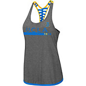Colosseum Women's UCLA Bruins Grey Kimono Racerback Tank Top