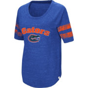 Colosseum Women's Florida Gators Blue Bean Babbitt Raglan T-Shirt