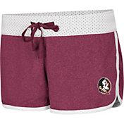 Colosseum Women's Florida State Seminoles Garnet/White Racine Belles Reversible Shorts