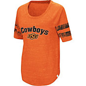 Colosseum Women's Oklahoma State Cowboys Orange Bean Babbitt Raglan T-Shirt