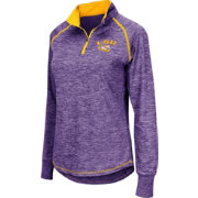 Colosseum Women's LSU Tigers Purple Bikram Quarter-Zip Top