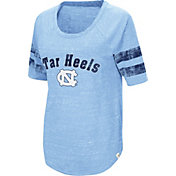 Colosseum Women's North Carolina Tar Heels Carolina Blue Bean Babbitt Raglan T-Shirt