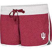 Colosseum Women's Indiana Hoosiers Crimson/White Racine Belles Reversible Shorts