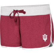 Colosseum Women's Indiana Hoosiers Crimson/White Racine Belles Reversible Shorts