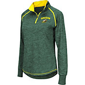 Colosseum Women's Oregon Ducks Green Bikram Quarter-Zip Top