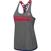 Colosseum Women's Arizona Wildcats Grey Kimono Racerback Tank Top