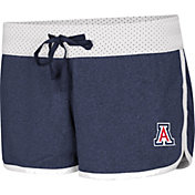 Colosseum Women's Arizona Wildcats Navy/White Racine Belles Reversible Shorts
