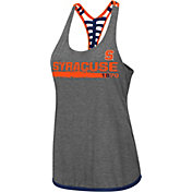 Colosseum Women's Syracuse Orange Grey Kimono Racerback Tank Top