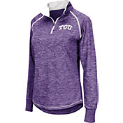 Colosseum Women's TCU Horned Frogs Purple Bikram Quarter-Zip Top