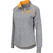 Colosseum Women's Tennessee Volunteers Grey Bikram Quarter-Zip Top