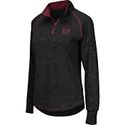 Colosseum Women's Texas A&M Aggies Black Bikram Quarter-Zip Top