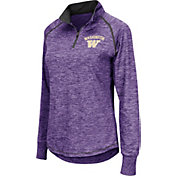 Colosseum Women's Washington Huskies Purple Bikram Quarter-Zip Top