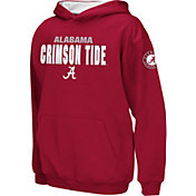 Colosseum Boys' Alabama Crimson Tide Crimson Pullover Hoodie