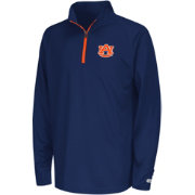 Colosseum Youth Auburn Tigers Blue Draft Performance Quarter-Zip