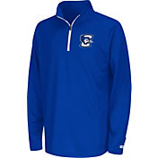 Colosseum Youth Creighton Bluejays Blue Draft Performance Quarter-Zip