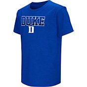 Colosseum Youth Duke Blue Devils Duke Blue Dual Blend T-Shirt