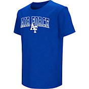 Colosseum Youth Air Force Falcons Blue Dual Blend T-Shirt