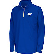 Colosseum Youth Air Force Falcons Blue Draft Performance Quarter-Zip