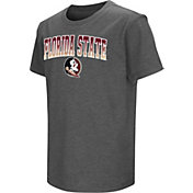 Colosseum Youth Florida State Seminoles Grey  Dual Blend T-Shirt