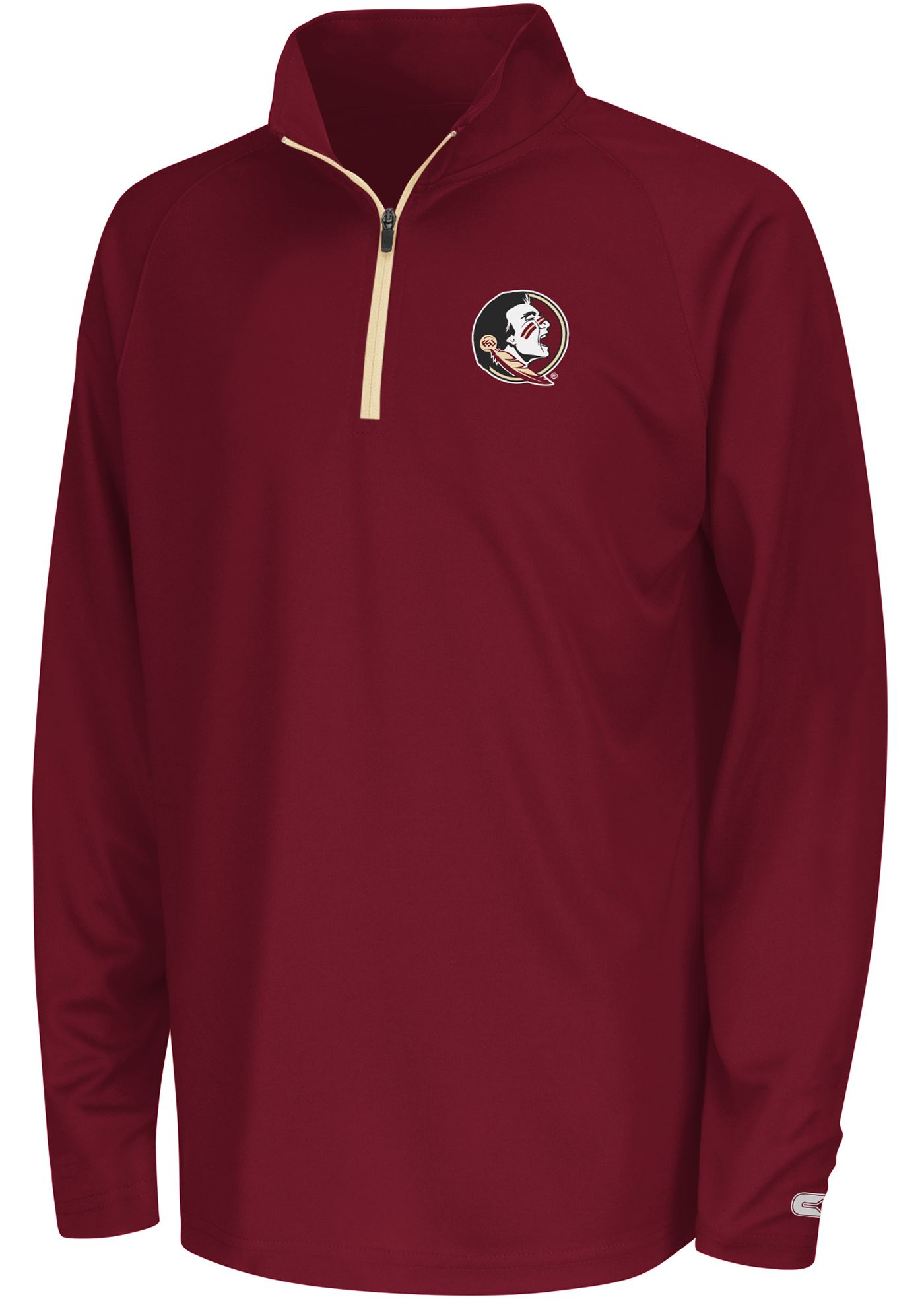 Colosseum Youth Florida State Seminoles Draft Performance Quarter-Zip
