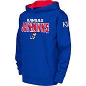 Colosseum Youth Kansas Jayhawks Blue Fleece Hoodie