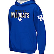 Colosseum Boys' Kentucky Wildcats Blue Pullover Hoodie