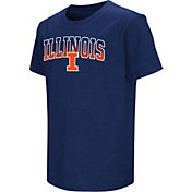 Colosseum Youth Illinois Fighting Illini Blue Dual Blend T-Shirt