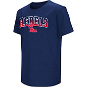 Colosseum Youth Ole Miss Rebels Blue Dual Blend T-Shirt