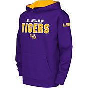 Colosseum Youth LSU Tigers Purple Fleece Hoodie