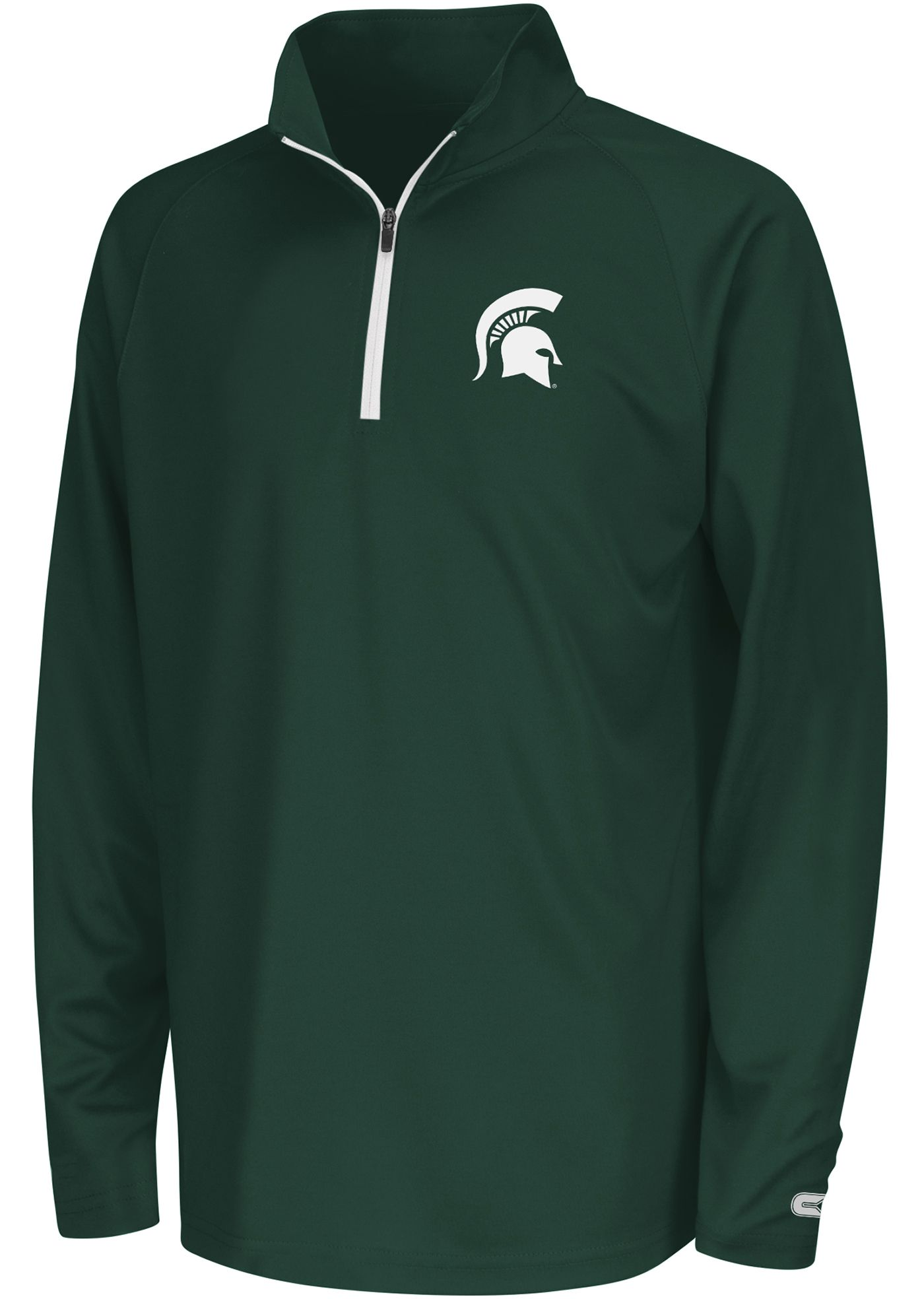 Colosseum Youth Michigan State Spartans Draft Performance Quarter-Zip