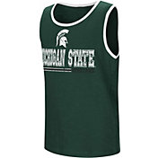 Colosseum Youth Michigan State Spartans Green Legends Never Die Tank