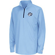 Colosseum Youth North Carolina Tar Heels Draft Performance Quarter-Zip