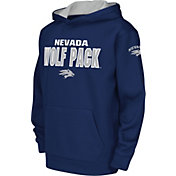 Colosseum Youth Nevada Wolf Pack Blue Fleece Hoodie