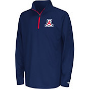 Colosseum Youth Arizona Wildcats Navy Draft Performance Quarter-Zip