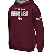 Colosseum Boys' Texas A&M Aggies Maroon Pullover Hoodie