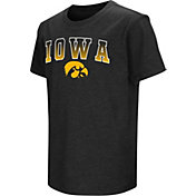Colosseum Youth Iowa Hawkeyes Dual Blend Black T-Shirt