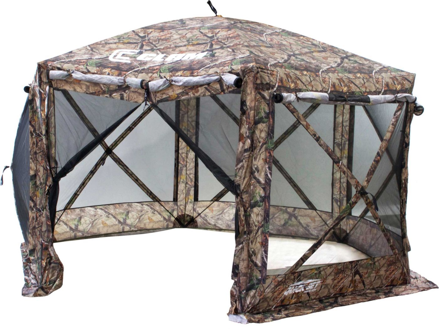 Clam Outdoors 12.5' x 12.5' Quick-Set Pavilion Screen House