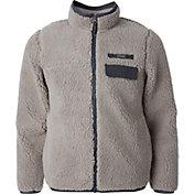 Columbia Boys' Mountain Side Heavyweight Full Zip Fleece Jacket