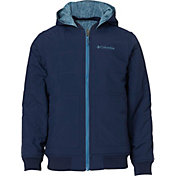 Columbia Boys' Evergreen Ridge Reversible Insulated Jacket