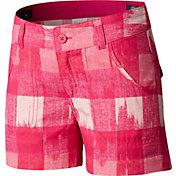 Columbia Girls' Silver Ridge Printed Shorts