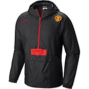 Columbia Men's Manchester United Flashback Windbreaker Black Pullover