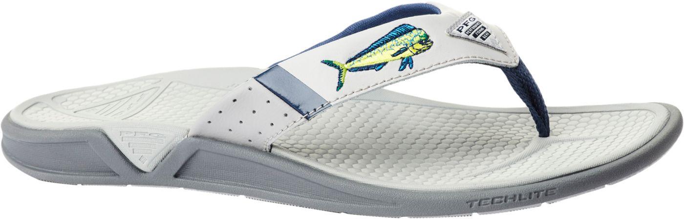 Columbia Men's PFG Fish Flip Flip Flops
