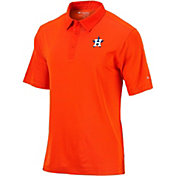 Columbia Men's Houston Astros Orange Striped Polo
