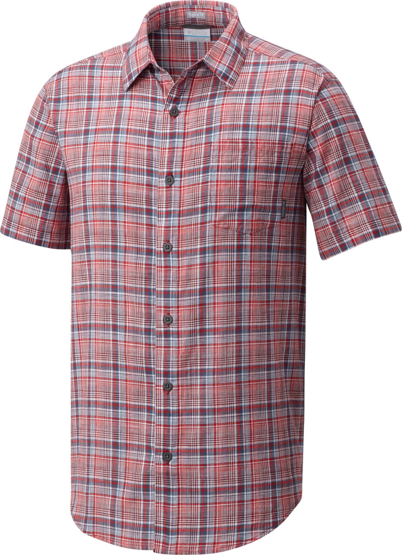 Columbia Men's Under Exposure Short Sleeve Shirt
