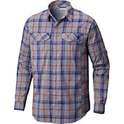 Columbia Men's Silver Ridge Lite Plaid Long Sleeve Shirt