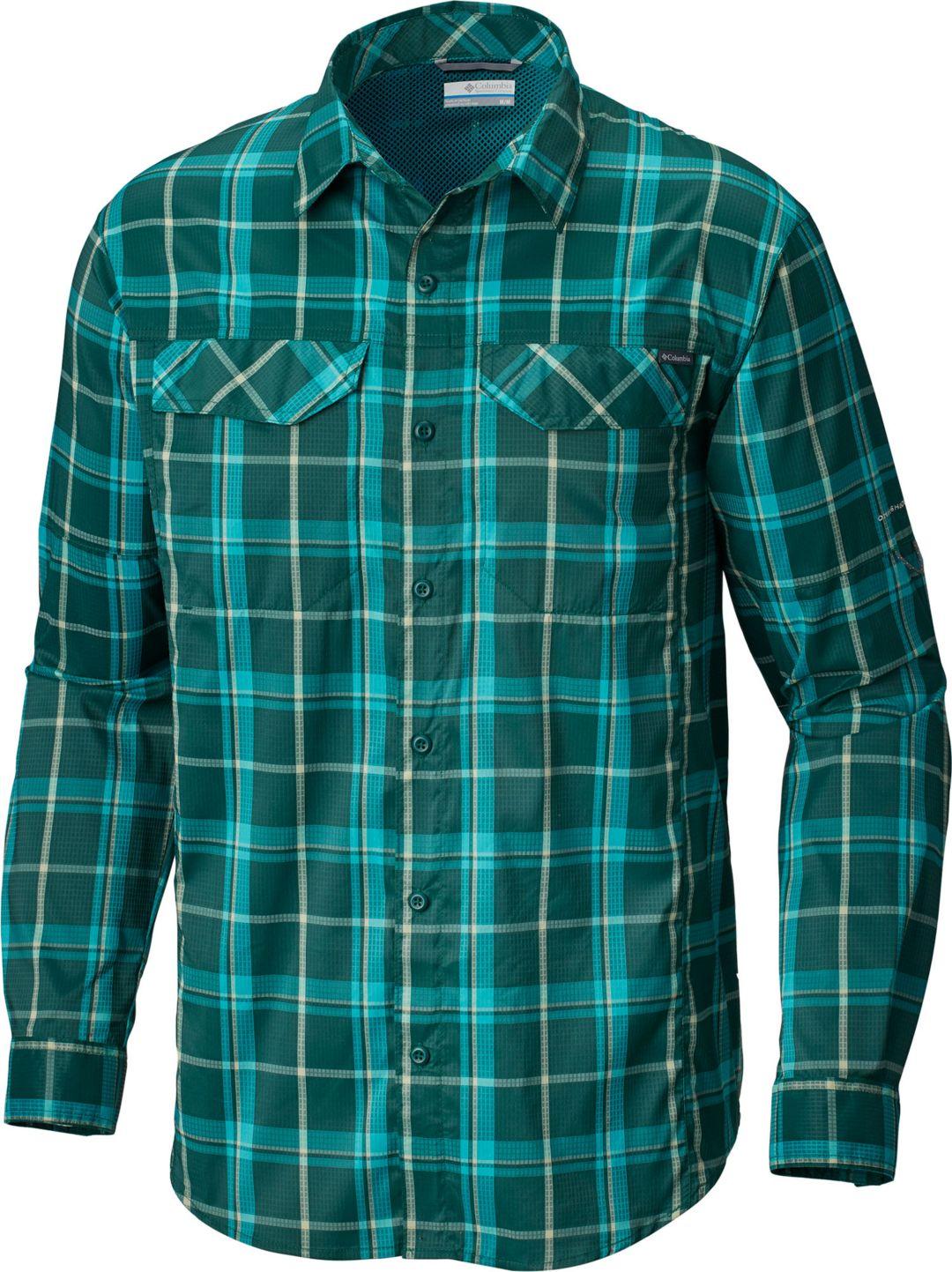 16e0bdf5adf Columbia Men's Silver Ridge Lite Plaid Long Sleeve Shirt | DICK'S ...